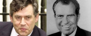Gordon Brown / Richard Nixon juxtaposition 4