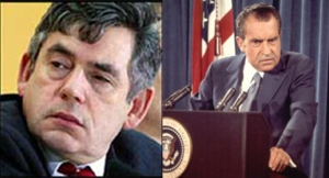 Gordon Brown / Richard Nixon juxtaposition 5