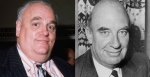 Paedophile cover-ups: Cyril Smith (left) & Sir Peter Hayman (right)