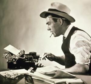 Old-school journalist