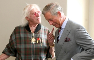 Prince Charles taking advice on board from Jimmy Savile