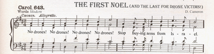 The First Noel (and the last for drone victims!)