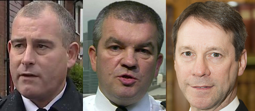 A difference of opinion on policing prostitution: Association of Chief Police Officers members Chris Armitt, Martin Hewitt and Mark Gilmore.